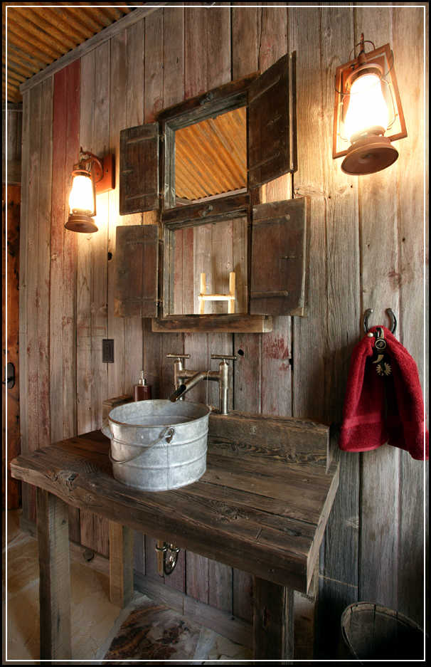 Country Cabin Bathroom Ideas : Tips to enhance rustic bathroom decor ideas home design