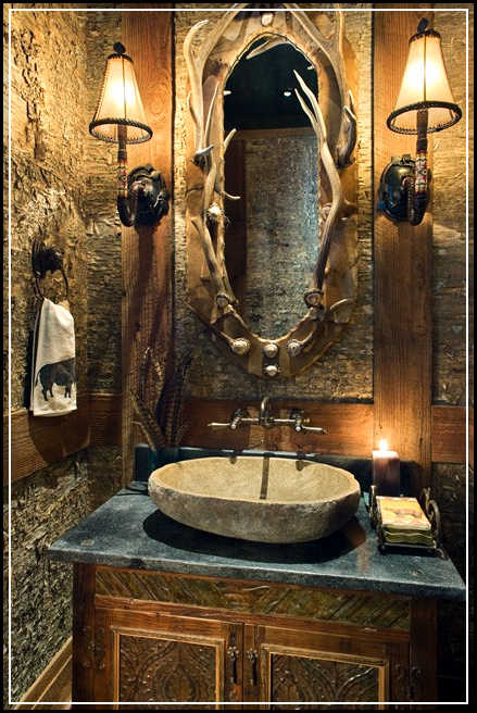 Tips to enhance rustic bathroom decor ideas home design for Bathroom designs rustic