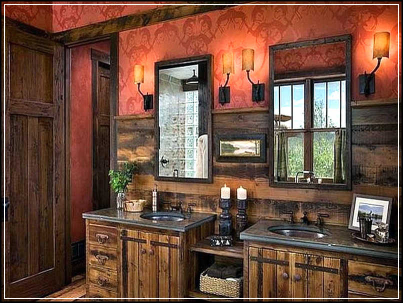 tips to enhance rustic bathroom decor ideas