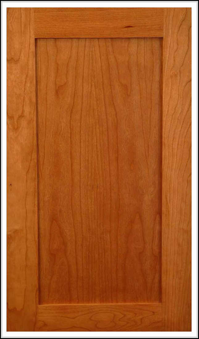 how to turn flat cabinet doors into shaker style