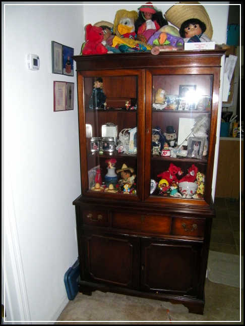 small china cabinets