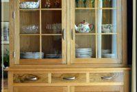 small corner china cabinet