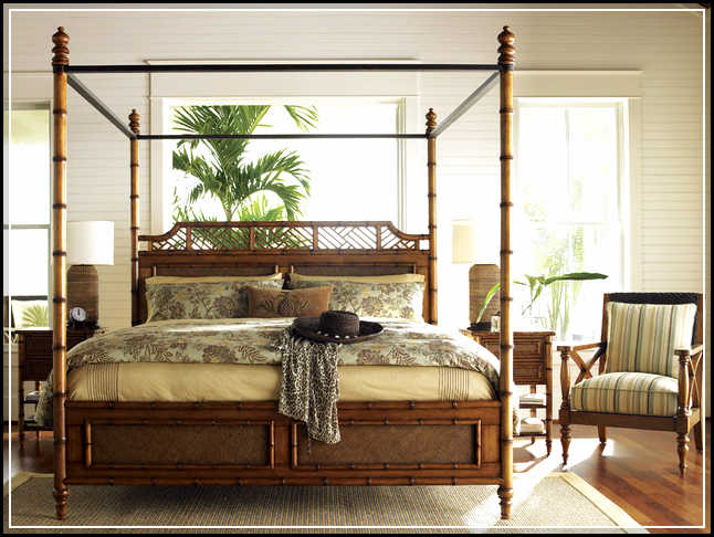 Coastal Bedding Tropical Bedroom Furniture