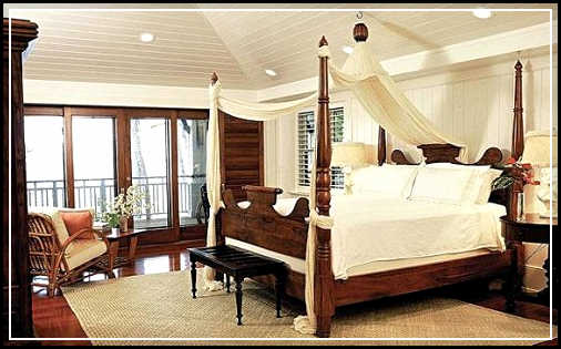tropical bedroom furniture comfortable and refreshing