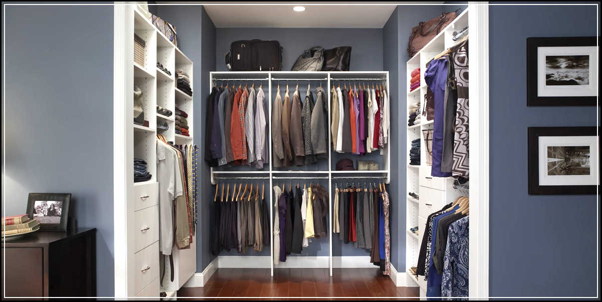 Easy Tips Of Walk In Closet Organizers Optimization Home Design Ideas Plans