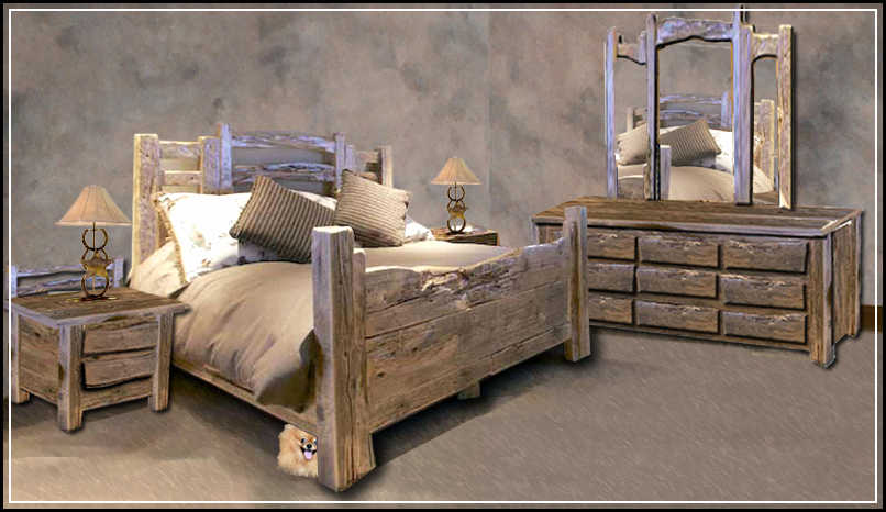 Mcmansion queen bedroom set great western furniture for Cowgirl bedroom ideas