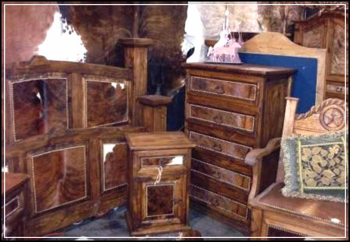 rustic western bedroom furniture