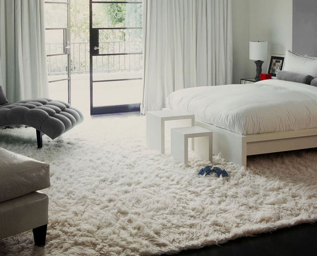 Cool Furry Rug Home Design Ideas
