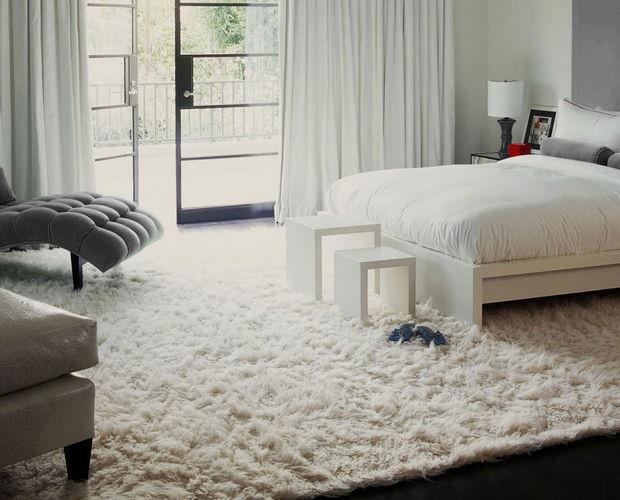 Cool Furry Rug Home Design Ideas