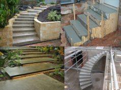 How To Build Concrete Steps