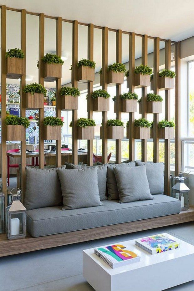 Partition Plant Pots