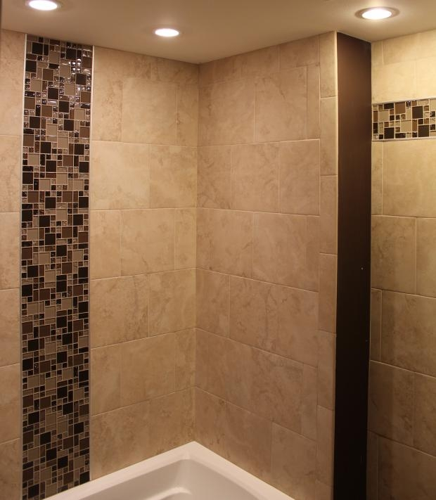 mosaic tile patterns for shower
