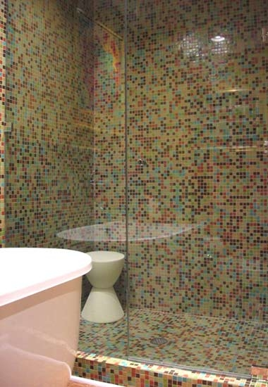 glass tile bathroom pictures