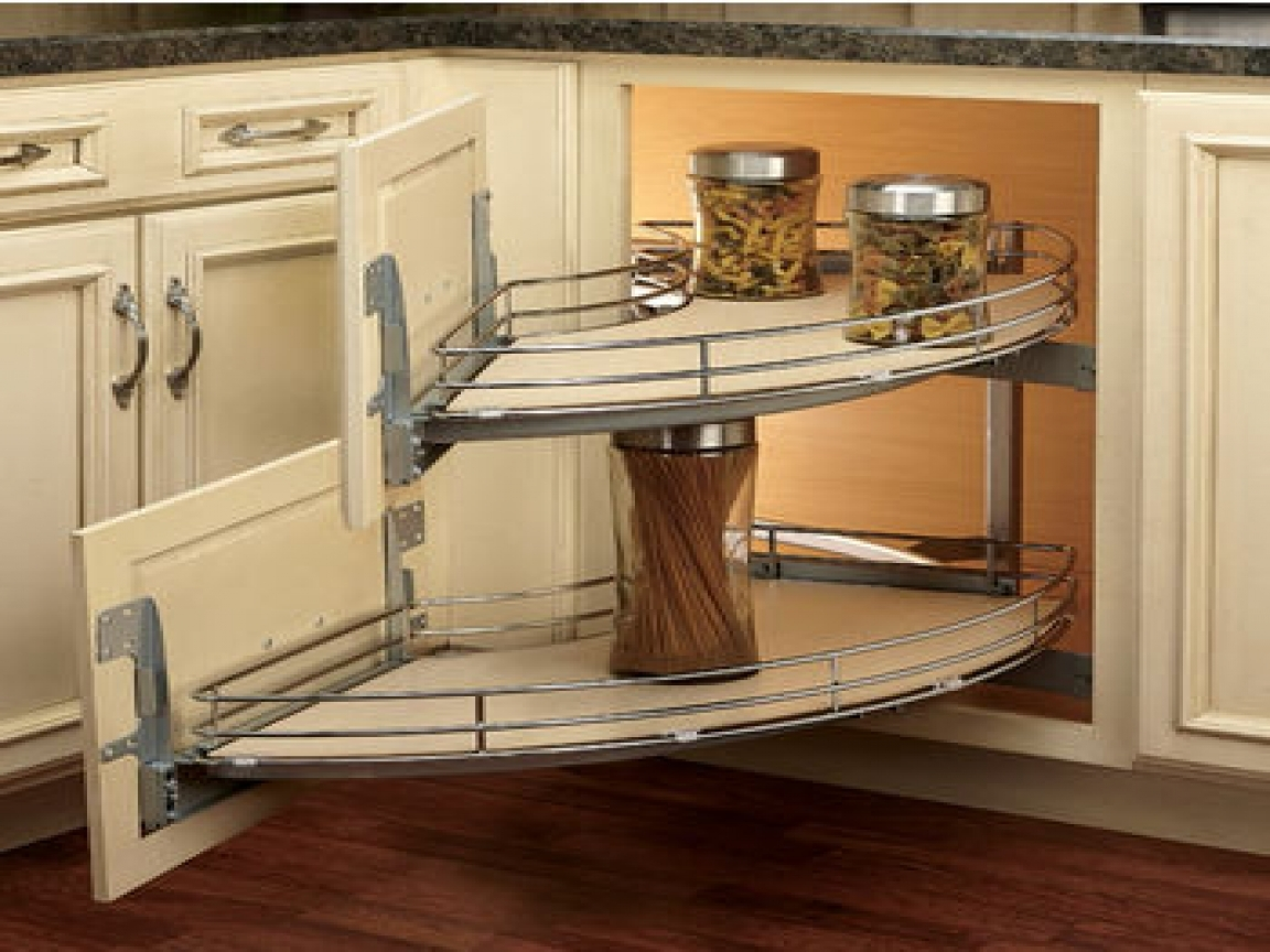 Corner Kitchen Cabinet Storage Ideas Home Design Ideas Plans