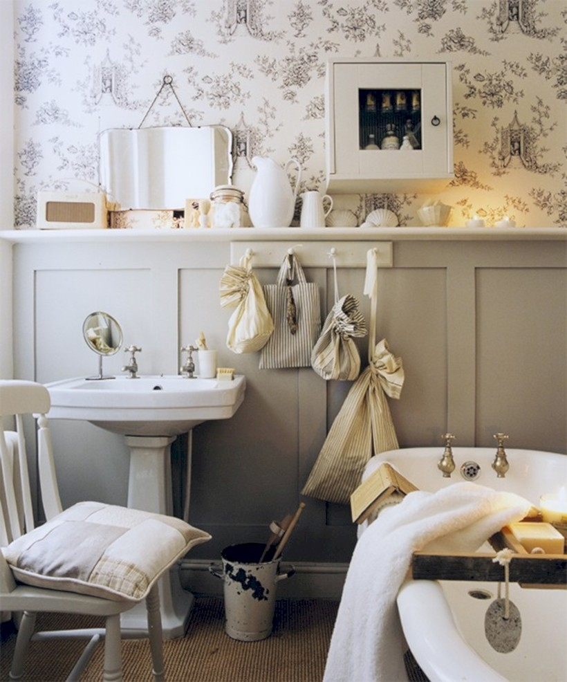 54 small country bathroom designs ideas