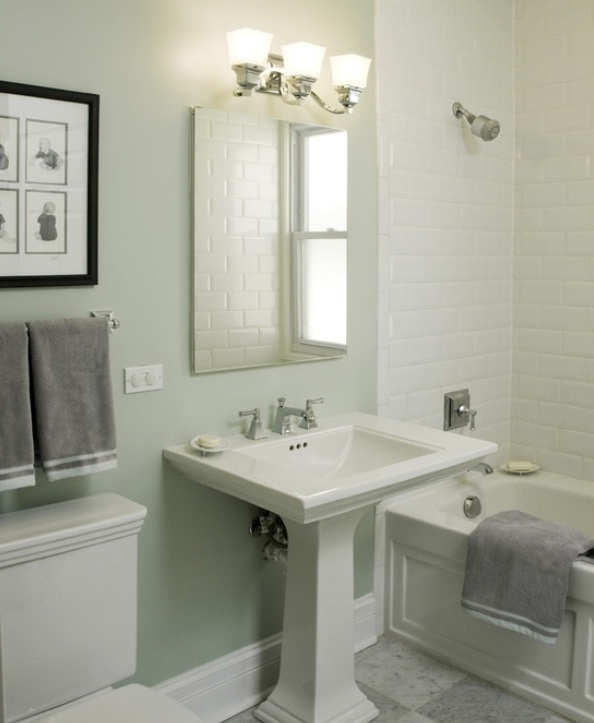 tile ideas for the small bathroom