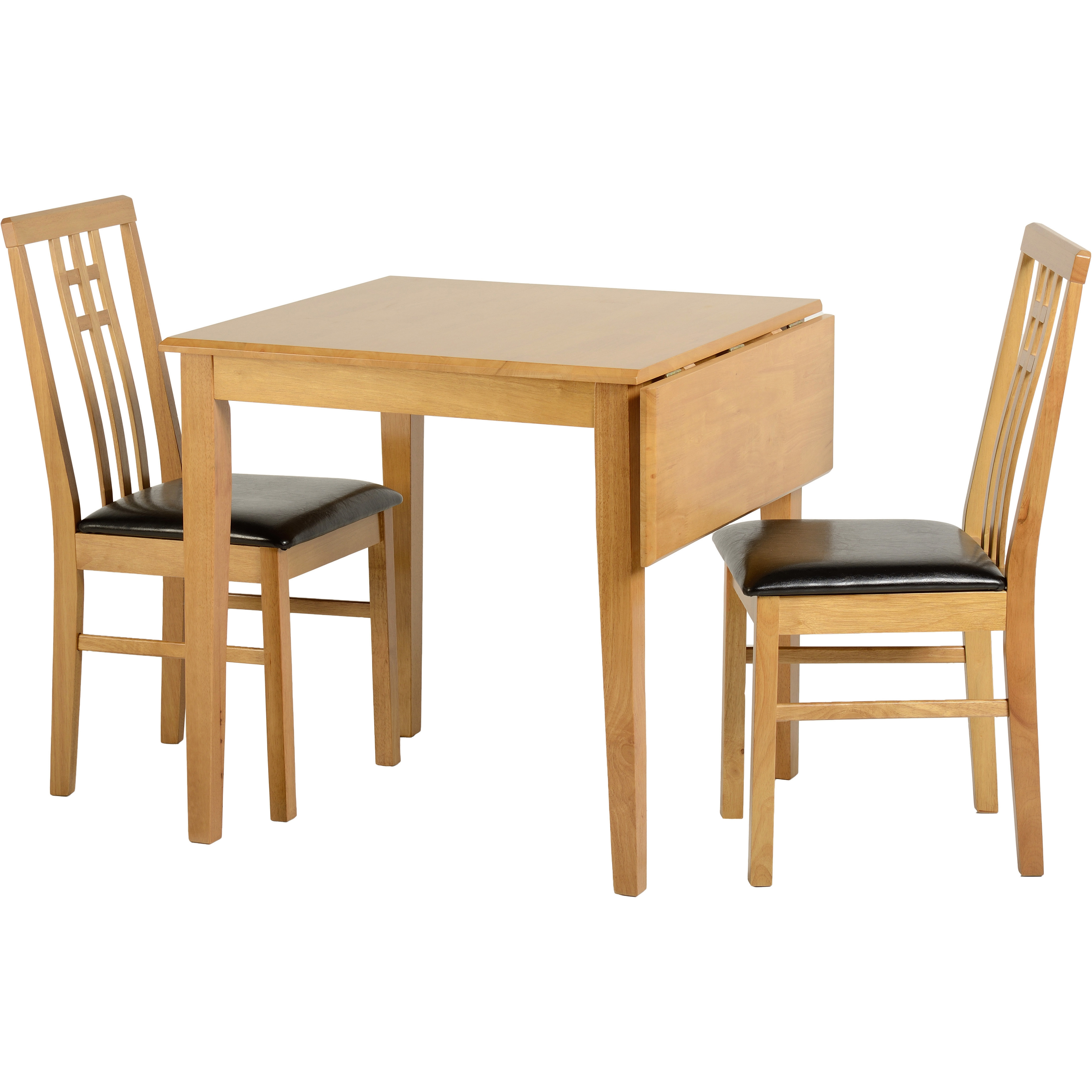 Home and Haus Extendable Dining Table and 2 Chairs SEQ1364