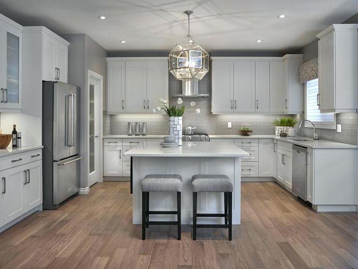 light grey kitchen cabinets best floor ideas on flooring gray with white countertops