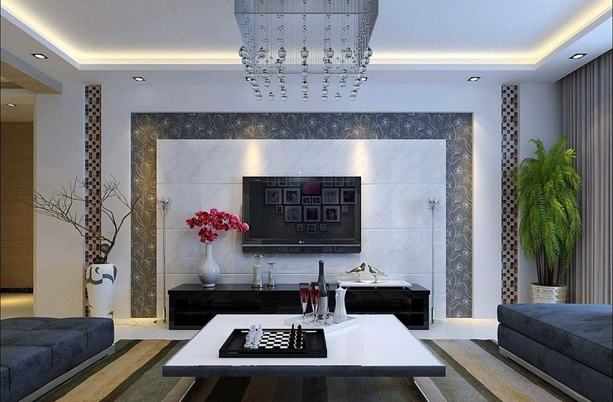 living room wall interior design ideas