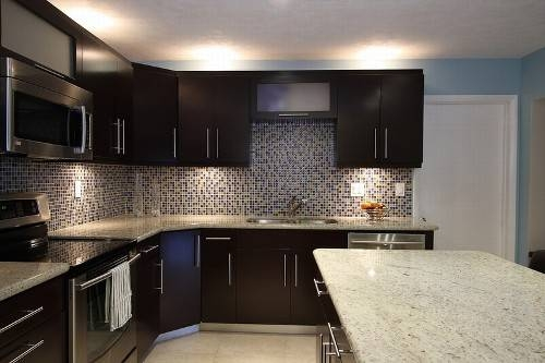dark kitchen cabinets backsplash ideas