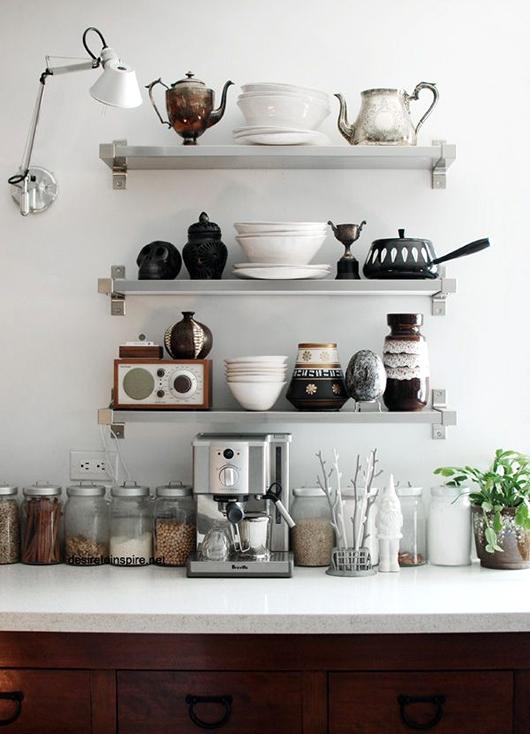 12 kitchen shelving ideas decorating