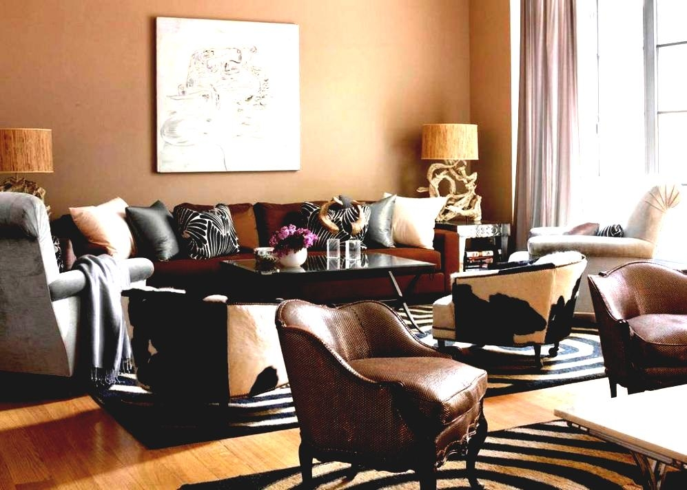 brown couch living room paint color ideas with furniture d b