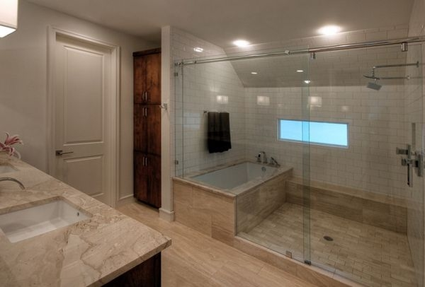 Small Bathroom Layouts with Separate Tub and Shower - Home ...