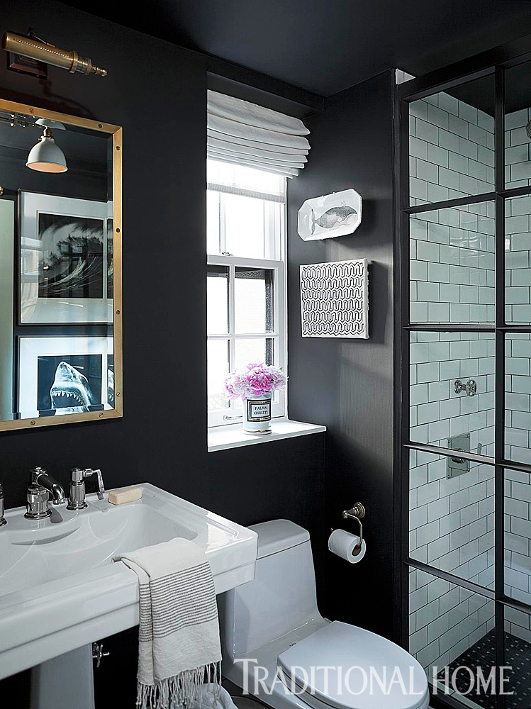 beautiful black and white bathrooms page=11
