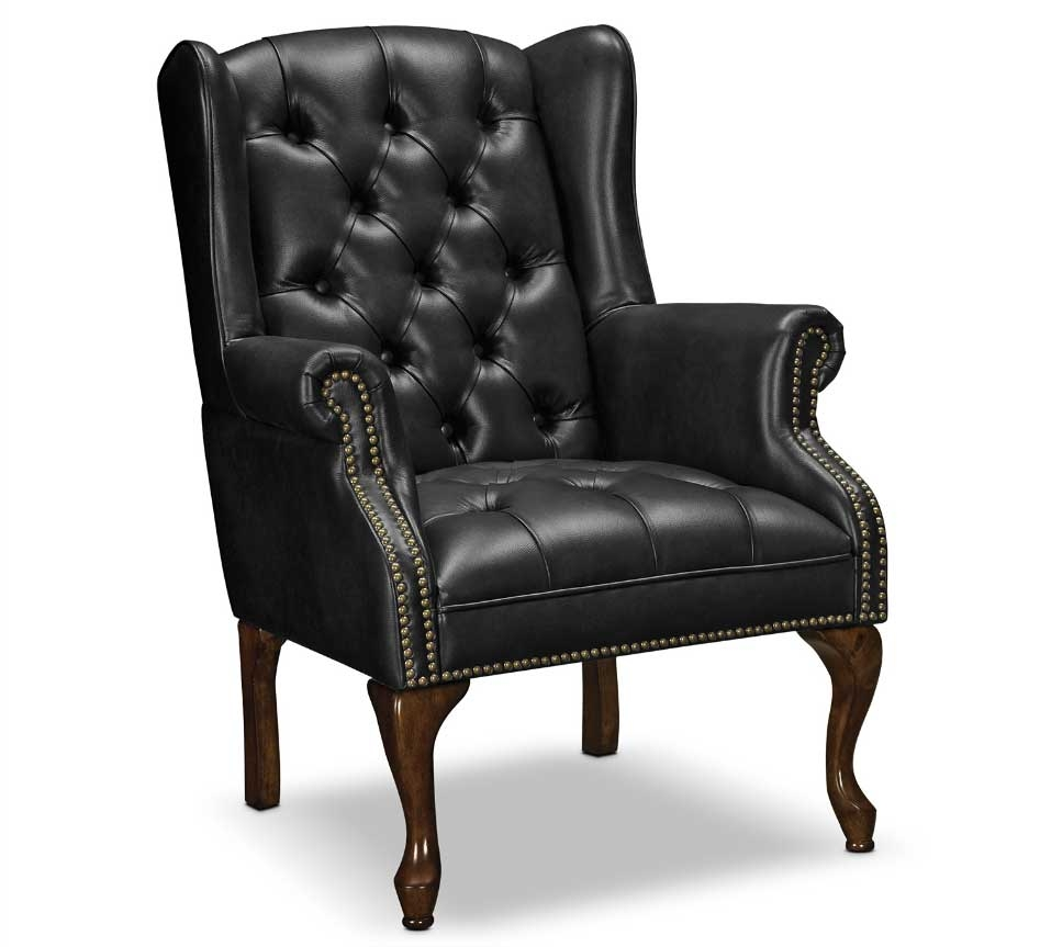 living room chairs leather
