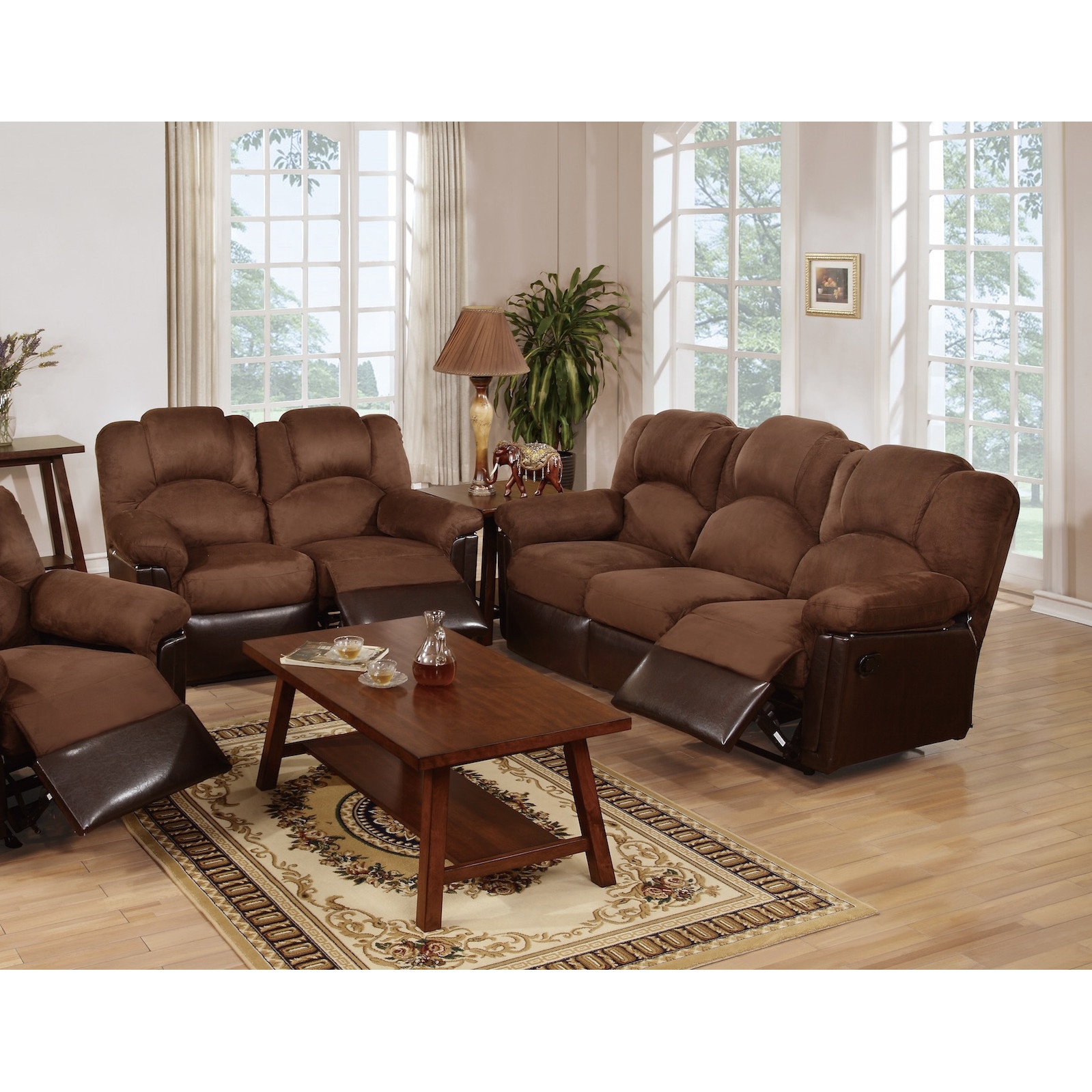 leather living room furniture sets