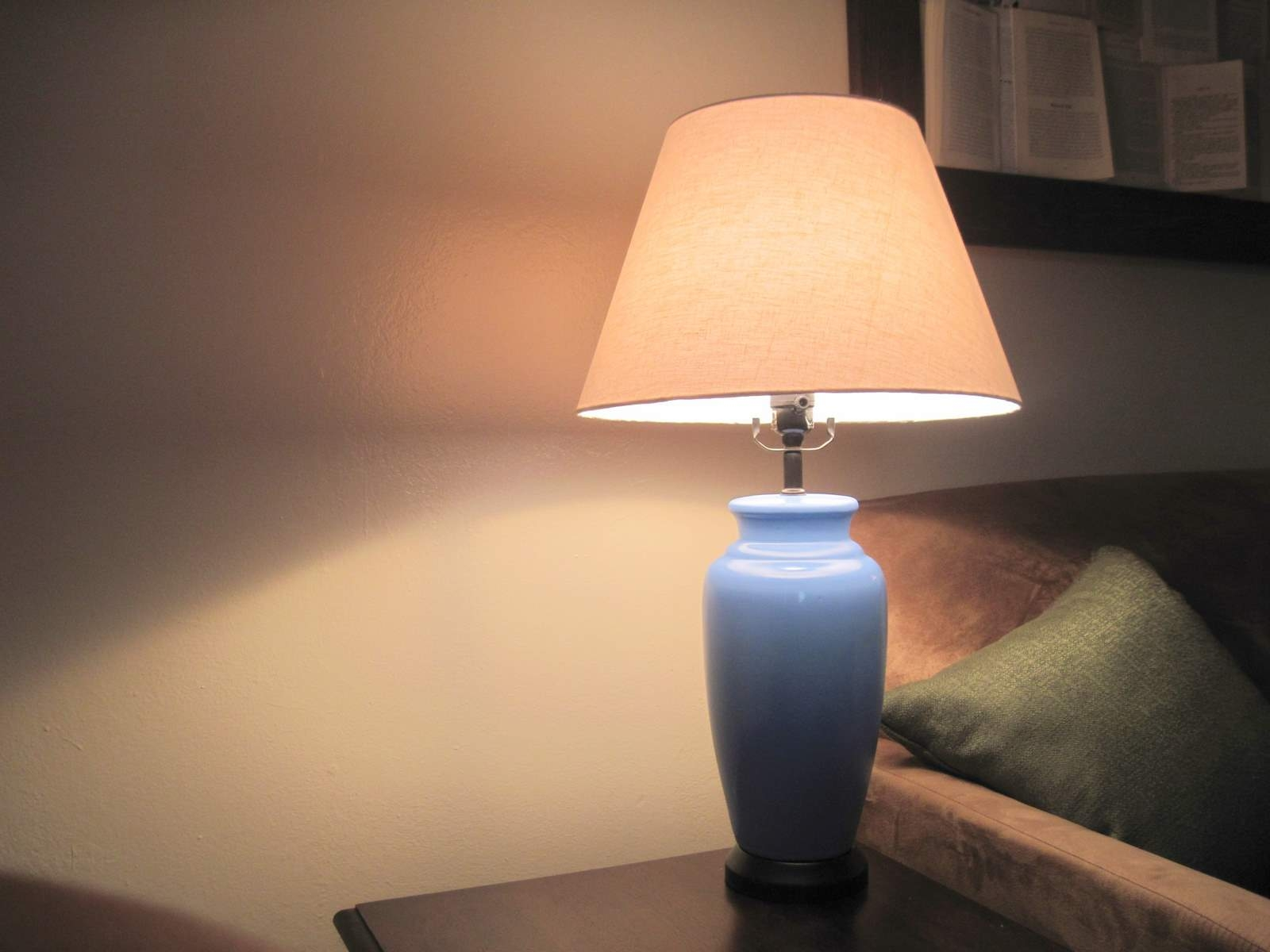 living room lamp project