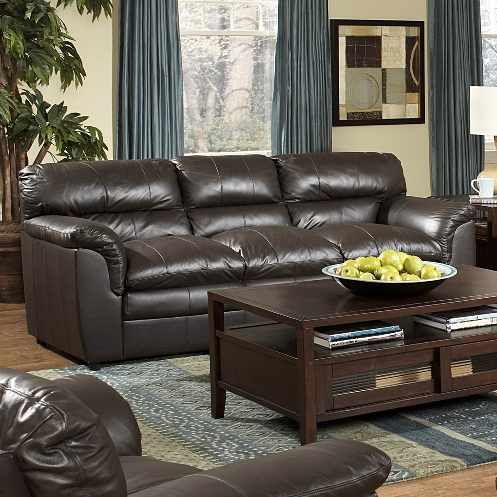 weston all leather living room set homelegance 9853 lr set