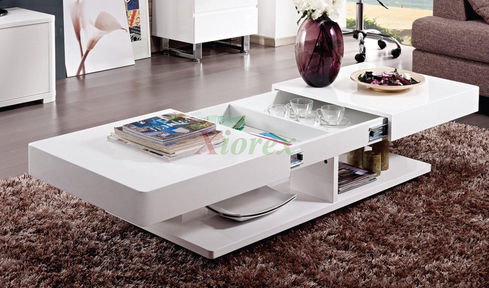 burlington white coffee table living room furniture