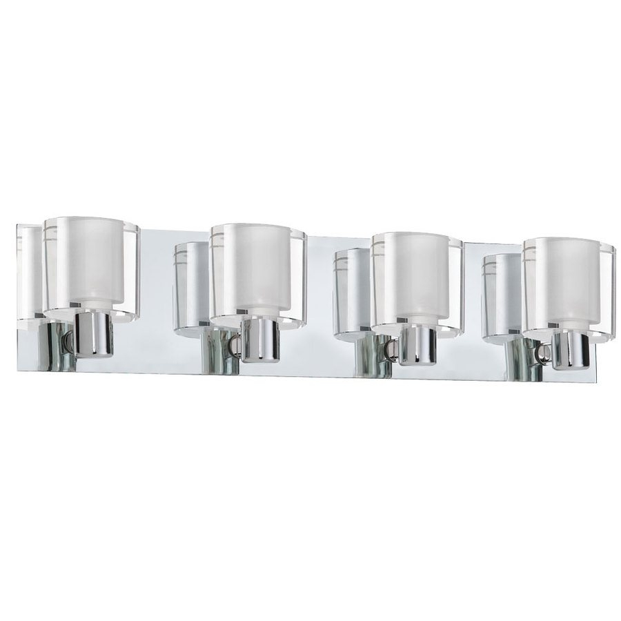lowes bathroom light fixtures chrome
