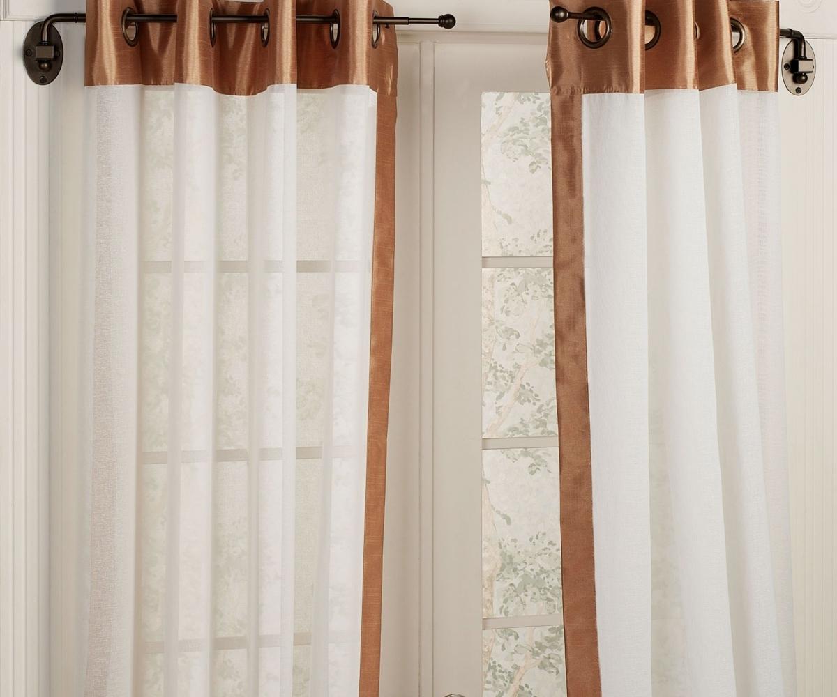 Enhance Bathroom With Trendy Shower Curtain Rod Home