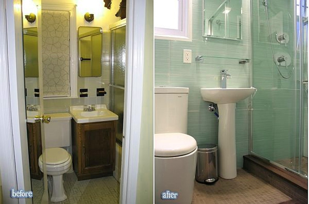 amazing before and after bathroom