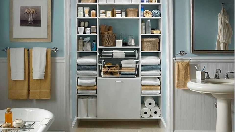 20 practical small bathroom storage ideas